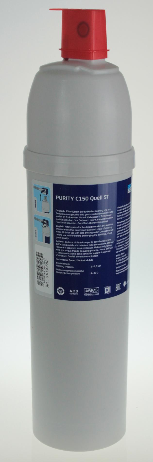 Brita Purity C150 Quell ST Wasserfilter - Filterkartusche